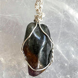 Super Seven Silver Wire Wrapped Pendant - New Earth Gifts