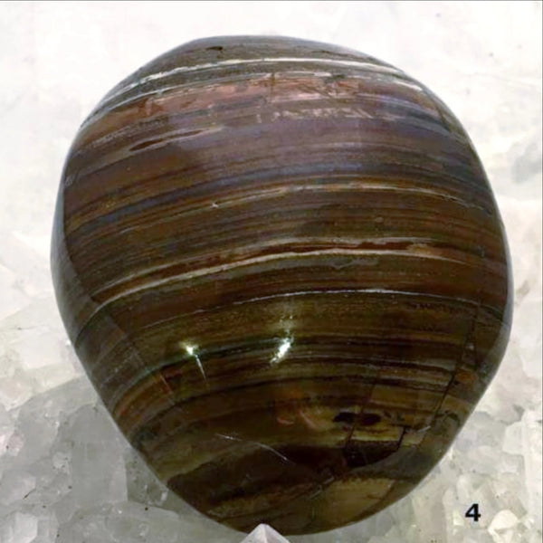 Tiger Eye Massage Stone For Protection For Sale New Earth Gifts