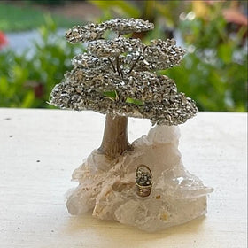 pyrite mini tree - new earth gifts