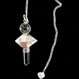 Quartz Crystal Double Terminated Pendulum - New Earth Gifts