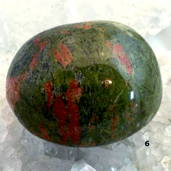 Unakite Massage Stone High-Polished For Sale New Earth Gifts