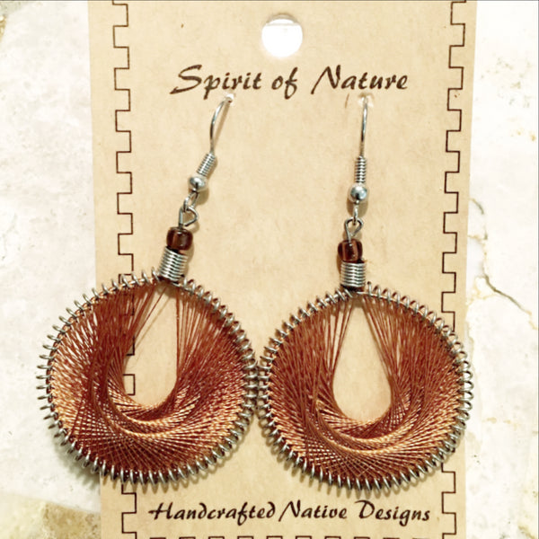 Thread Earrings - new earth gifts
