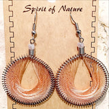 Thread Earrings Central American Style - New Earth Gifts and Beads
