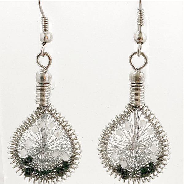 Guatemalan Thread Earrings - new earth gifts