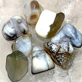 White Opal 1 pc Tumbled Stone - New Earth Gifts