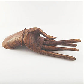 Wood Hand Display - New Earth Gifts