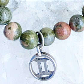 Gemini Zodiac Charm Bracelet | New Earth Gifts