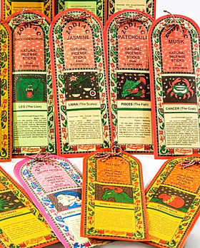 Zodiac Incense Sticks | New Earth Gifts