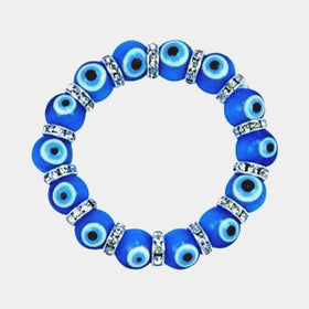 Evil Eye Bracelet Light Blue - New Earth Gifts