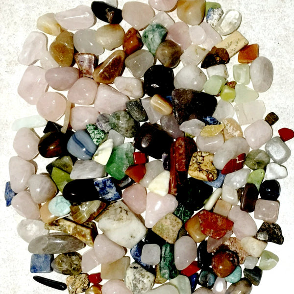 Mixed Tumbled Gemstones 1 Lbs - New Earth Gifts and Beads