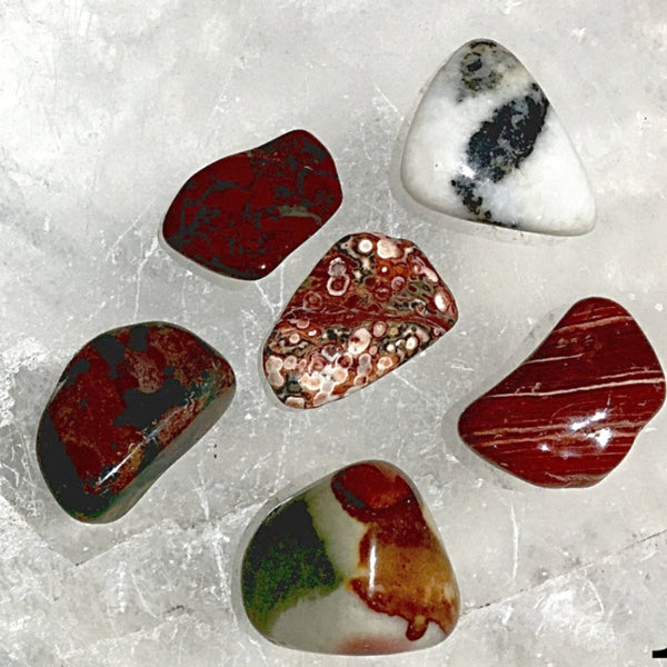 Jasper Polished Gemstones for Earth Connection | New Earth Gifts