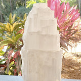 "Selenite Lamp 8"" - New Earth Gifts and Beads"