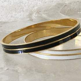 Bangle Bracelet 2 piece gold set | New Earth Gifts