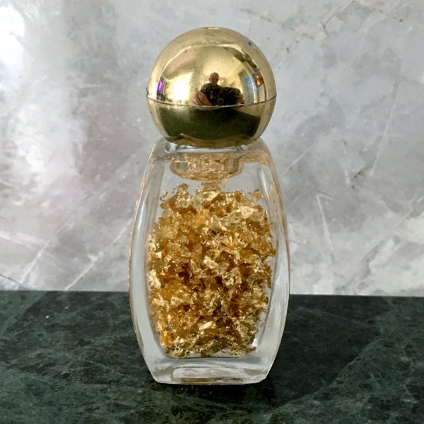 Gold Flakes Bottle - New Earth Gifts and Beads