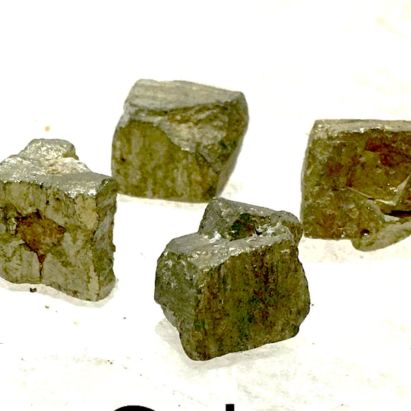 Pyrite Cubes 6 Pc Collector Set | New Earth Gifts