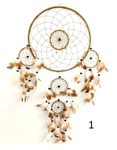 Dream Catcher Wall Hangings - 3 Sizes - New Earth Gifts and Beads