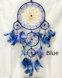 Colorful Blue Dream Catchers  | New Earth Gifts