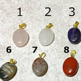 Gemstone Oval Charms | New Earth Gifts