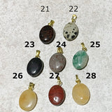 Oval Gemstone Charms | New Earth Gifts