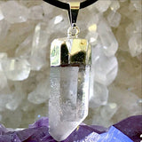 Quartz Point Pendant - Several Selections - New Earth Gifts and Beads