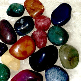 Tumbled Agate Stones  Beautiful Colors By the Pound - New Earth Gifts