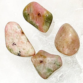 Thulite Polish Tumbled Stone 1pc - New Earth Gifts