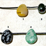 Tumbled Stone Side Drilled Pendants - New Earth Gifts
