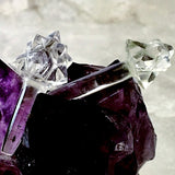 Quartz Star Wands - Pair of Mini Wands for Directional Healing - New Earth Gifts and Beads
