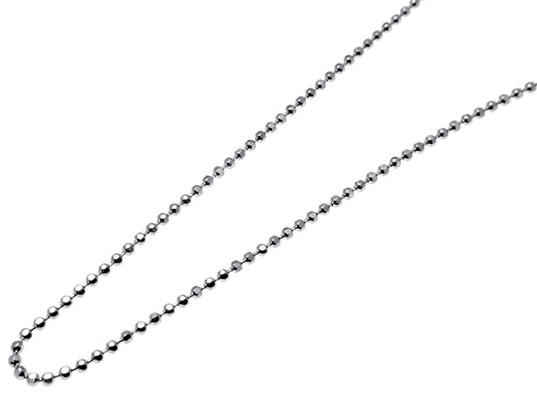 Ball Chain - Sterling Silver Diamond Cut - New Earth Gifts and Beads
