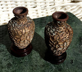 Cloisonne Vases - Miniature Collectibles Set - New Earth Gifts and Beads