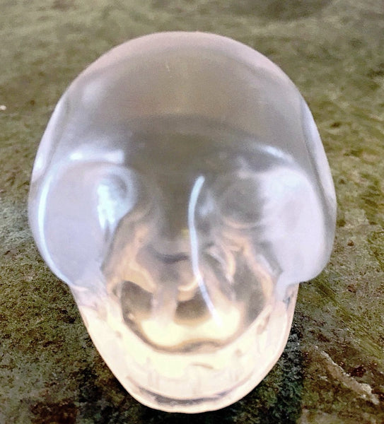 Gemstone Quartz Skull 40mm - New Earth Gifts