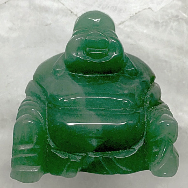 Happy Buddha Aventurine Carving | New Earth Gifts