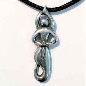 Goddess Pewter Pendant - New Earth Gifts and Beads