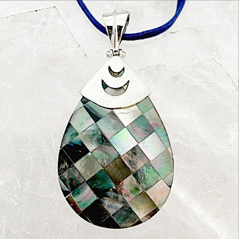 Abalone Shell Pendant - New Earth Gifts