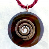 Spiritual Life Force Jasper Pendant - New Earth Gifts and Beads