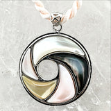 Mother of Pearl Circular Pendant | New Earth Gifts and Beads