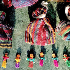 Worry Dolls Party Favors - Guatemalan Worry Dolls - New Earth Gifts and Beads