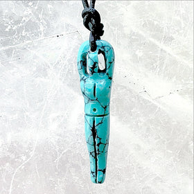 Earth Goddess Turquoise Pendant - New Earth Gifts
