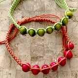 Wood Shamballa Bracelets 6-pc Party Favors Sets - New Earth Gifts and Beads