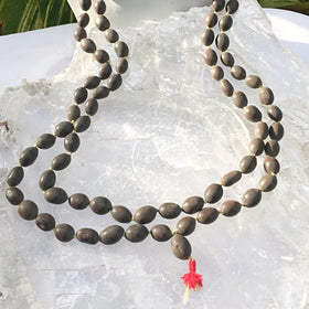 Mala Necklace of Lotus Beads | New Earth Gifts