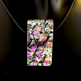Dichroic Glass Pendant - New Earth Gifts and Beads