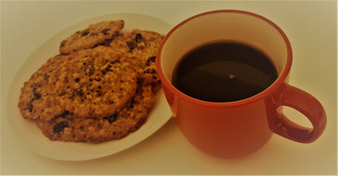 Best Oat and Raisin Cookies, dairy free, vegan, egg free, cookie mix, Auntie Mo's