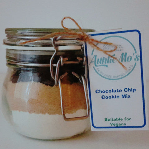Chocolate Chip Cookie Mix in a Jar - Auntie Mo's
