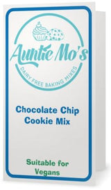 Dairy Free Vegan Chocolate Chip Cookie Mix Label Outer, Non Dairy, Egg Free