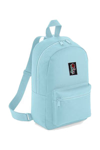 'Evolve' Logo Mini Baby Blue Backpack