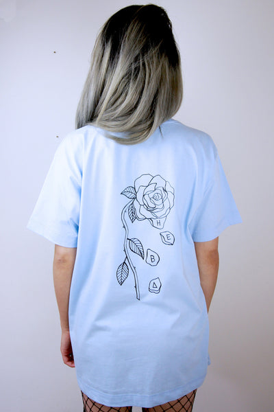 'The End' Baby Blue Tee