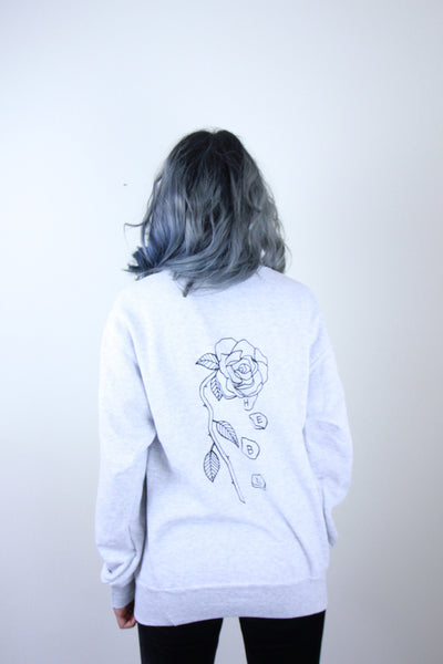 'The End' Grey Sweat