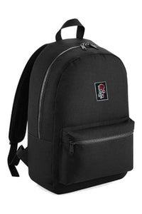 'Evolve' Logo Large Black Backpack