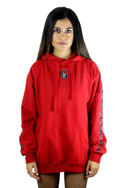 'Evolve' Red Logo Hoodie **Limited Edition**