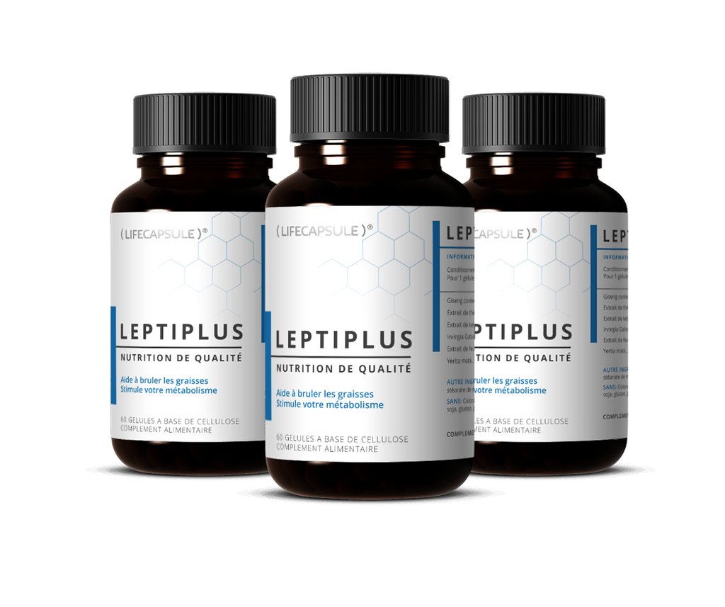 life capsule leptiplus 3 bottles treatment